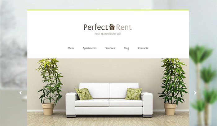 Perfect Rent - Real Estate Joomla Template