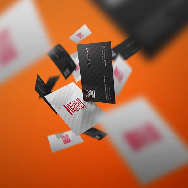 Business Card Mockup Volume 3