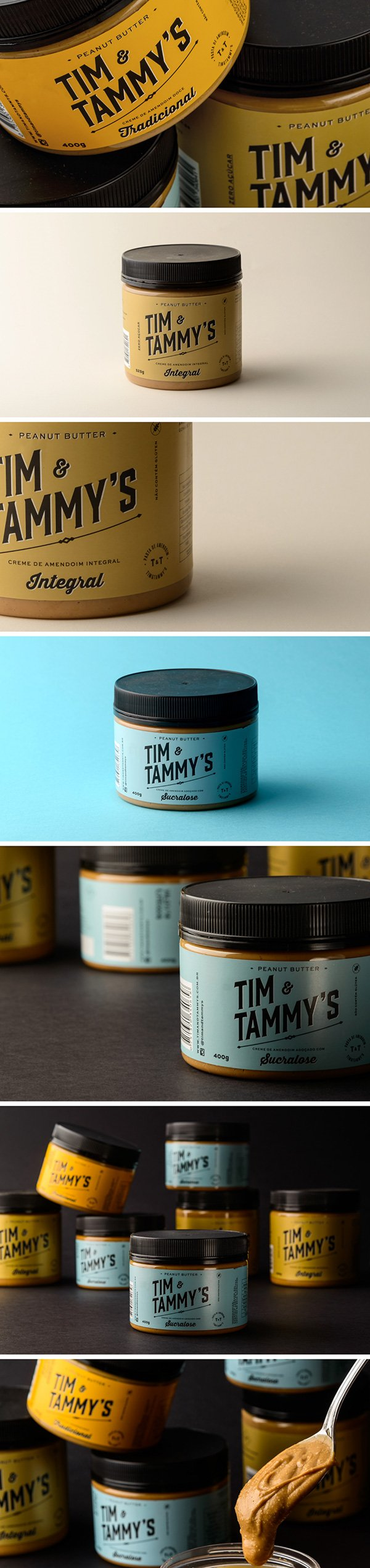 Tim & Tammy's Brand Packaging