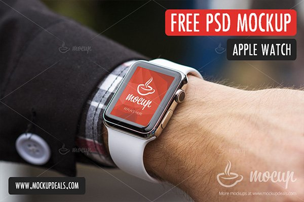 PSD Apple Watch Mockup
