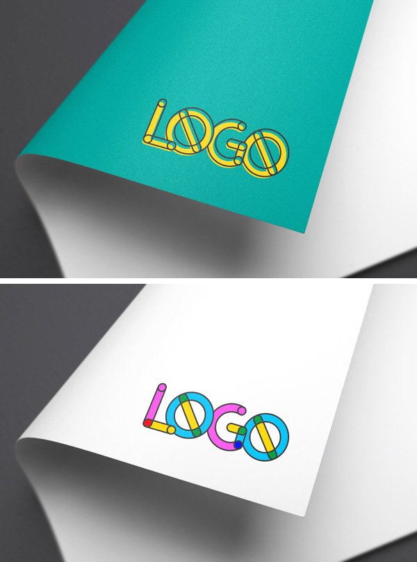 how to change the colour of a logo