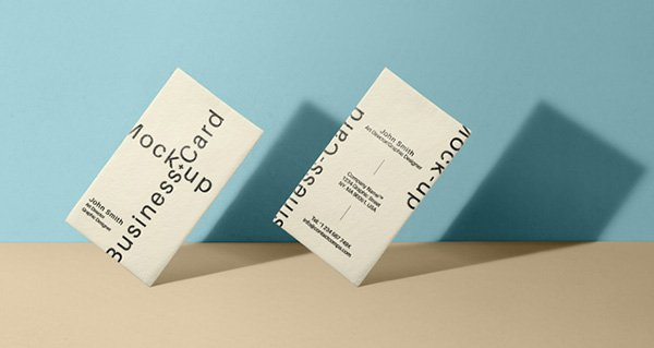 Business Card Mock-Up Vol33