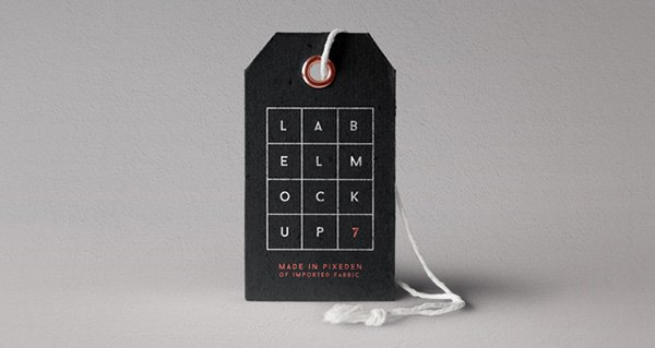 Label Brand Mockup Vol7