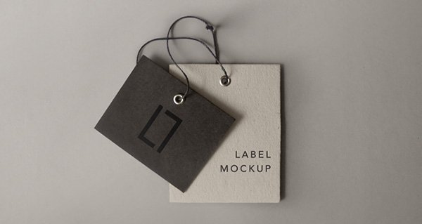 Psd Label Brand Mockup Vol6