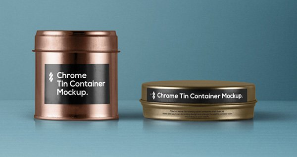 Tin Container Packaging
