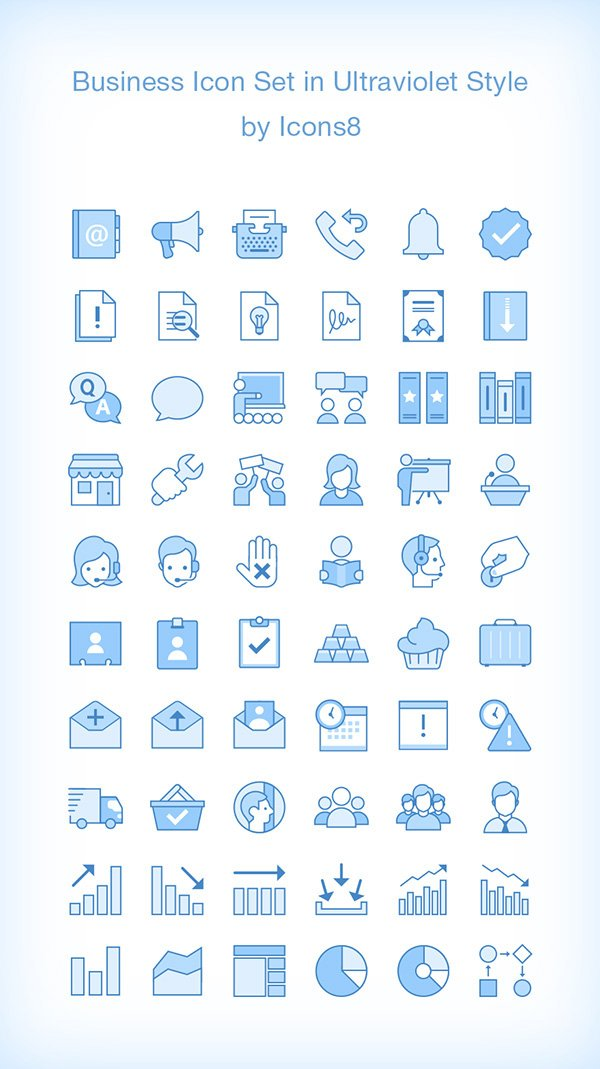 60 Business Icons