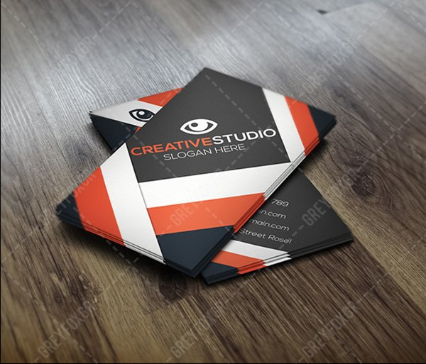 FREE Business Card Modern Template