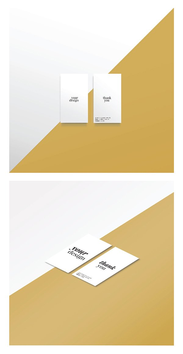 Free Card Mock-Up PSD