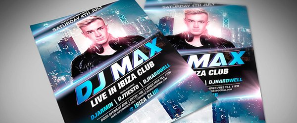 Free Flyer Template: Special Guest DJ Flyer Template