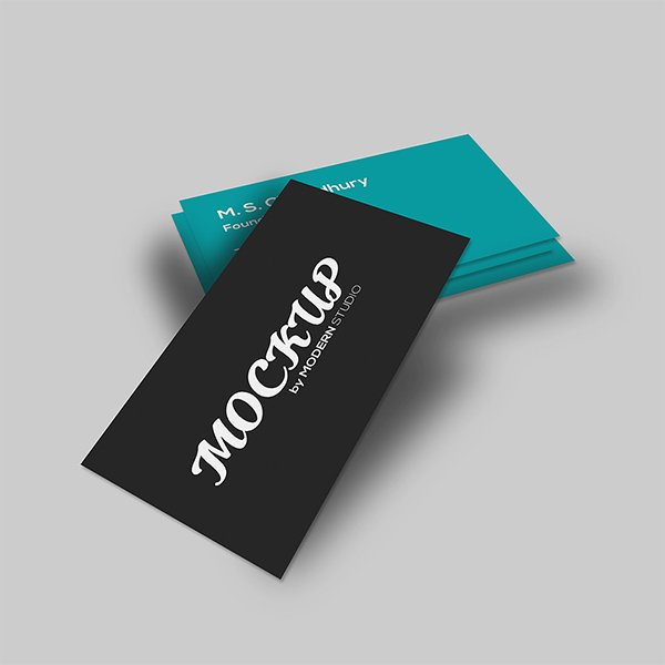 Freebie Business Card Mock-Up
