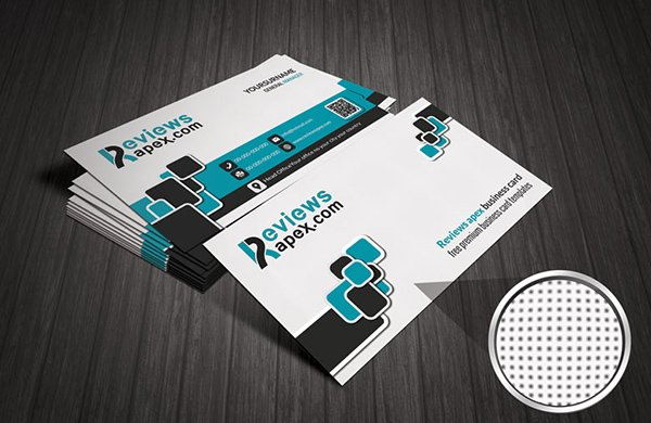 Modern White Corporate Business Card Template