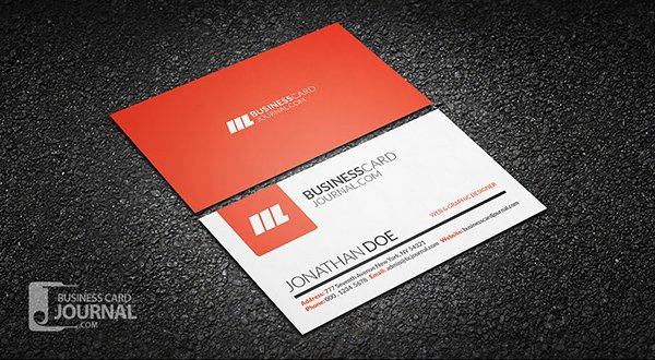 Simple & Clean Creative Business Card Template