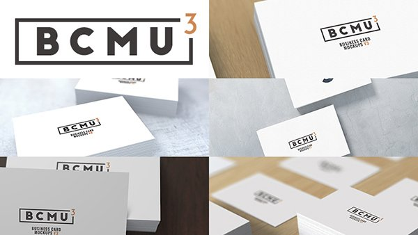 Business Card Mock-ups v3