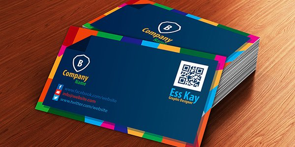 Free Executive Business Card Mock-up