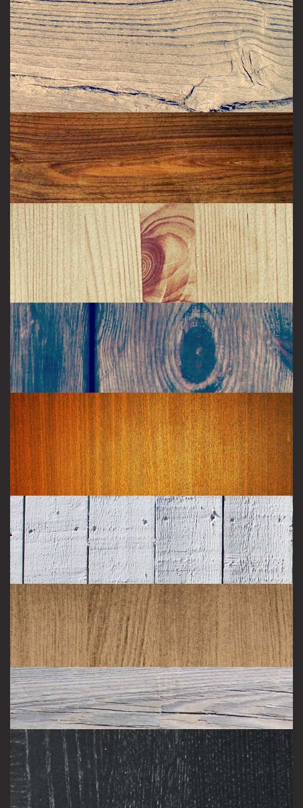 Freebie 20 High-Res Wood Textures