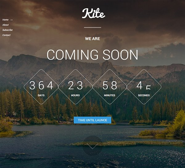 Kite Coming Soon Template